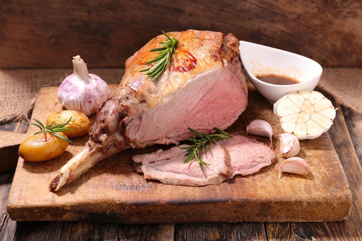 Gigot d'agneau de pâques - Maison Boudet